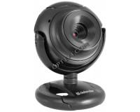 Web Camera Defender C-2525HD 2 МПикс Black с микрофоном, 1600 х 1200, кнопка фото, стеклянная линза (63252)
