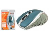 Мышь беспроводная Defender MM-675 Safari Optical 800/1200/1600dpi синяя, 5 кнопок+кнопка-колесо блистер (52675)