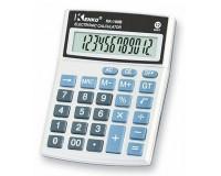 Калькулятор Kenko 100B настольный, 12 разрядный, размер 10х13 см, серебристый