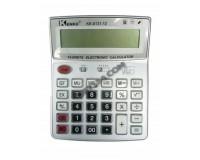 Калькулятор Kenko 6131-12 настольный, 12 разрядный, размер 16х20 см, белый