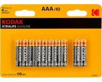 Батарейка Kodak LR3 BL 10 XTRALIFE