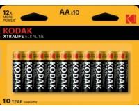 Батарейка Kodak LR6 BL 10 XTRALIFE