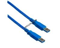 Кабель USB A штекер - USB A штекер Perfeo длина 1, 8м, USB 3.0 (U4601)