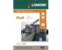 Фотобумага Lomond матовая 1хА3 90 г/м2 100 л.(0102011)