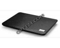 Аксессуары для ноутбуков теплоотводящая подставка Deepcool N17 14'', 330х250х25мм, 1 (14см), 1xUSB, пластик, черный