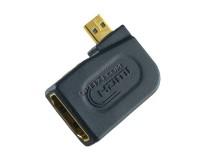 Переходник Perfeo HDMI гнездо - microHDMI штекер угловой (A7010)