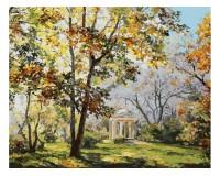 Набор для живописи на холсте 40х50 Белоснежка 023-AB Ротонда в парке Екатерингоф РАСПРОДАЖА!!!