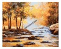 Набор для живописи на холсте 40х50 Белоснежка 132-AB Золотая осень РАСПРОДАЖА!!!