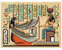 Набор для живописи на цветном холсте 30х40 Белоснежка 751-AS-C Охота фараона РАСПРОДАЖА!!!