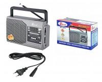 Приемник Fepe FP-1371 аккумуляторно-сетевой, 220V шнур в комплекте / 2*R20 (в комплект не входят), размер: 17х11х6.5см