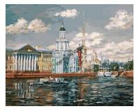Набор для живописи на холсте 40х50 Белоснежка 077-AB Кунсткамера РАСПРОДАЖА!!!