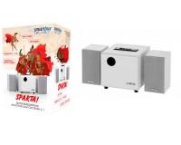 Акустические системы 2.1 SmartBuy SBA-210 SPARTA 8+2х2Вт MP3, FM, корпус МДФ, белые