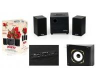 Акустические системы 2.1 SmartBuy SBA-200 SPARTA 8+2X2Вт MP3, FM, корпус МДФ, черные