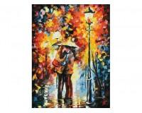 Набор для живописи на картоне 30х40 Белоснежка 3015-CS Поцелуй под дождем