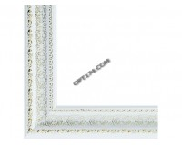 Багет Белоснежка 1091-BL 30х40 см Alice (серебро пластик)