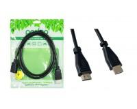 Кабель HDMI-HDMI Perfeo 1м ver.1.4b, пакет, черный (H1001)