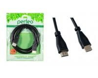 Кабель HDMI-HDMI Perfeo 1, 5м ver.1.4b, пакет, черный (H1002)