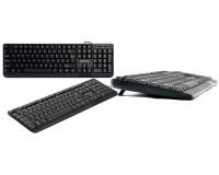 Клавиатура Defender OfficeMate HM-710 RU USB Black 104 клавиши+12 дополнительных клавиш влагоустойчивая (45710)