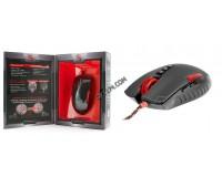 Мышь игровая A4Tech Bloody V2M USB Optical (3200dpi) черно-красная, 7+1 колесо-кнопка, коробка