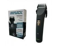 Набор для стрижки Бердск 5201А 3Вт, 2 насадки, аккумуляторный, расческа, кисточка, масло, кабель сетевой, черный