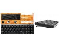 Клавиатура Defender Accent SB-720 USB Black 102 клавиши компактная (45720)