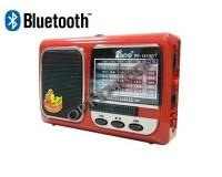 Приемник Fepe FP-1519BT аккумуляторный, AUX/USB/microSD до 32Гб, Bluetooth, питание: от аккумулятора BL-5C (в комплекте) / 3*АА(R6) - в комплект не входят, размер: 13х8х4см, фонарик