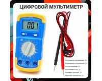 Мультиметр DT710L цифровой, прозвон, питание 9V (6F22)