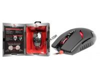 Мышь игровая A4Tech Bloody V4M USB Optical (3200dpi) черная, 7+1 колесо-кнопка, 160Кб память для скриптов, 1мс отклик, коробка