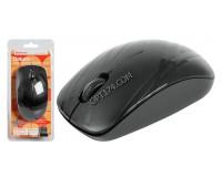 Мышь беспроводная Defender MB-035 Datum USB Laser (800/1200/1600dpi) черная, 3 кнопки+кнопка-колесо блистер (52035)