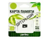 Флэш карта microSDHC 32 GB Perfeo Class 10 без адаптера