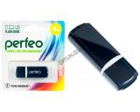Флэш диск 16 GB USB 2.0 Perfeo C02 Black с колпачком