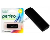 Флэш диск 16 GB USB 2.0 Perfeo C04 Black с колпачком