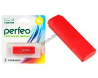 Флэш диск 16 GB USB 2.0 Perfeo C04 Red с колпачком