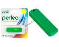 Флэш диск 16 GB USB 2.0 Perfeo C05 Green с колпачком