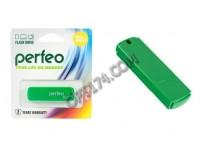 Флэш диск 32 GB USB 2.0 Perfeo C05 Green с колпачком