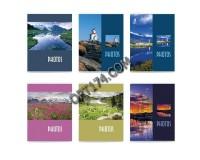 Фотоальбом BRAUBERG 390649 36 фотографий 10х15 мягкая обложка, Пейзаж, ассорти