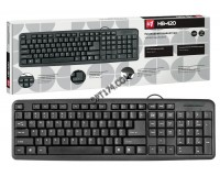 Клавиатура Defender HB-420 RU USB Black 104 клавиши+3 клавиши управление питанием (45420)