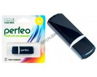 Флэш диск 8 GB USB 2.0 Perfeo C02 Black с колпачком