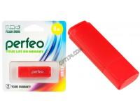 Флэш диск 8 GB USB 2.0 Perfeo C04 Red с колпачком