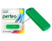 Флэш диск 8 GB USB 2.0 Perfeo C05 Green с колпачком