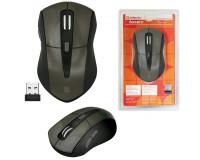 Мышь беспроводная Defender MM-965 Accura USB Optical (800/1600dpi) коричневая, 5 кнопок+кнопка-колесо блистер (52968)