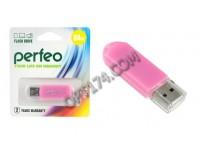 Флэш диск 64 GB USB 2.0 Perfeo C03 Pink с колпачком