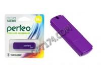 Флэш диск 64 GB USB 2.0 Perfeo C05 Purple с колпачком