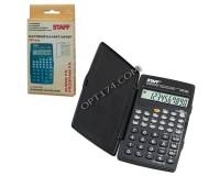 Калькулятор STAFF STF-245-10 инженерный, 10 разрядный, размер 12х7 см, черный (250194)