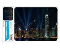 Коврик для мыши Buro BU-M80010 Гонконг 230х180х2мм, PVC, резина, нескользящее основание