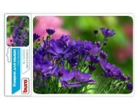 Коврик для мыши Buro BU-M20012 цветы1 230х180х2мм PVC, резина, нескользящее основание