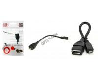 Переходник Cablexpert A-OTG-AFBM-001 USB гнездо - microUSB штекер(OTG), 0, 15м