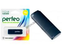Флэш диск 4 GB USB 2.0 Perfeo C04 Black с колпачком