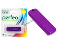 Флэш диск 4 GB USB 2.0 Perfeo C05 Purple с колпачком
