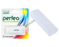 Флэш диск 4 GB USB 2.0 Perfeo C04 White с колпачком